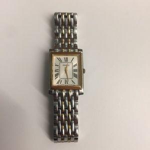 Seiko Ladies Women's Rectangle Roman Numeral Watch